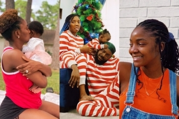 Simi Finally Reveals The Reason Why She Doesn't Show Her Daughter's Face In Pictures Or Videos